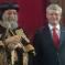 بالصور .. هاربر يشارك البابا تواضروس في افتتاح كاتدرائية مارمرقس الكبري بماركهام