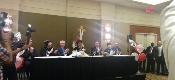 البابا تواضروس يصل كندا ويصفها بالدولة الجميلة