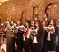 بالفيديو .. إحتفال الكنيسة القبطية بعيد دخول المسيح أرض مصر