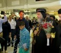 بالصور.. لحظات وصول البابا تواضروس الي كندا