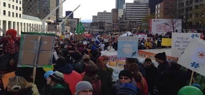 """إحتجاجات في """"كيبيك"""" بعد أنباء عن ارتفاع رسوم دور الحضانة"""