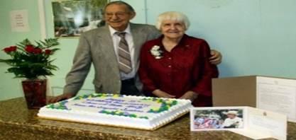 زوجان كنديان يحتفلا بعيد زواجهم الثمانين