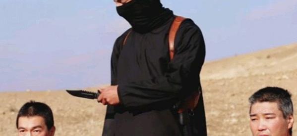 """بالصور.. رد اليابانيين المفاجئ علي """"داعش"""" بعد التهديد بذبح رهينتين لهم"""