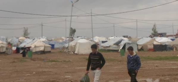 """""""جود نيوز"""" تزور معسكرات اللاجئين المسيحيين والأيزيديين في شمال العراق"""