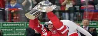 فوز كندا بالميدالية الذهبية وبطولة هوكي الجليد العالمية