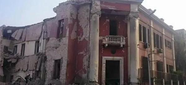عاجل: إنفجار هائل بمحيط القنصلية الإيطالية بالقاهرة منذ قليل