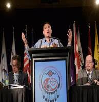 زعيم الشعوب الأصلية يدعو تابعيه للإطاحة بحكومة هاربر في الإنتخابات القادمة