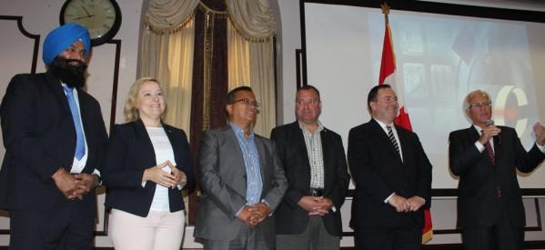 بالصور..مؤتمر لدعم حزب المحافظين بالمركز القبطي الكندي بمسيساجا