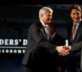 """شاهد .. المناظرة بين رؤساء الأحزاب الكندية عن """"الأقتصاد"""""""
