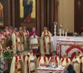 بالصور.. لأول مرة إقامة صلوات رسامة أسقف كاثوليكي بكنيسة قبطية أرثوذوكسية
