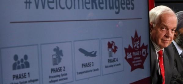 الحكومة الكندية تُصدر ٩٢٨ تاشيرة أقامة للاجئين السوريين وتعفيهم من مصاريف الإنتقال
