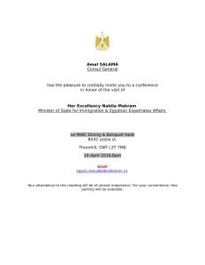 Toronto-Conference Invitation