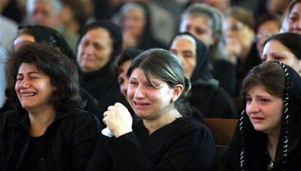 مسيحية هاربه من سجون داعش: كان يتم إغتصابي 9 مرات في الليلة الواحدة