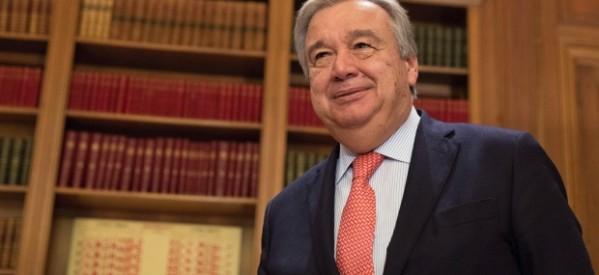 رئيس وزراء كندا يهنئ الأمين العام الجديد للأمم المتحدة أنطونيو جوتيريس