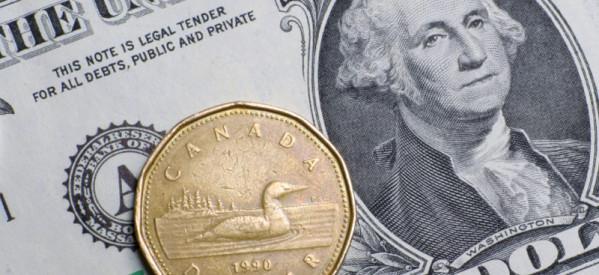 الدولار الكندي يصل إلي أدني مستوي له منذ أكثر من عام