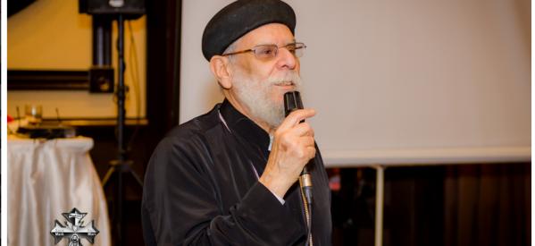 """القمص ميخائيل عزيز يتحدث لـ """"جود نيوز"""" في إحتفال الكنيسة القبطية بمونتريال باليوبيل الذهبي"""