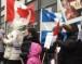 """تحت شعار """"دم الاقباط ليس رخيصاً"""" .. أقباط كندا يتظاهرون أمام القنصلية المصرية"""