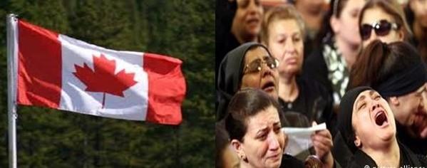 الهيئة القبطية الكندية تقيم وقفة أمام القنصلية المصرية بمونتريال إحتجاجاً علي ما يحدث للأقباط بمصر