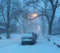 سيارات عالقة وإلغاء رحلات طيران ورؤية منعدمة نتيجة العاصفة الثلجية الأسوء علي أونتاريو