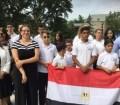 لأول مرة .. رفع العلم المصري فوق برلمان أونتاريو