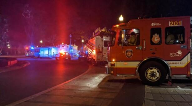 وسط البحث عن الدوافع إن كانت أرهابية..الشرطة الكندية تُلقي القبض علي مشتبه حمل سيف وقتل أثنين وجرح خمسة