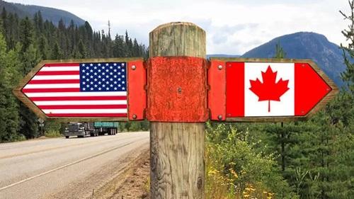 إستمرار غلق الحدود الكندية الأمريكية