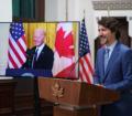 """في لقاء بايدن بـ""""ترودو"""": الولايات المتحدة ليس لديها صديق أقرب وأهم من كندا"""