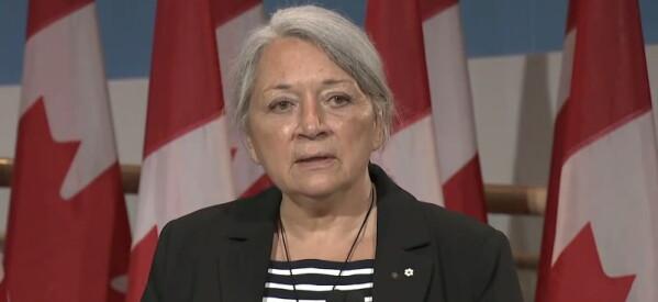 """عاجل.. أعلان """"ماري سيمون"""" أول حاكم عام في تاريخ كندا من الشعوب الأصلية"""