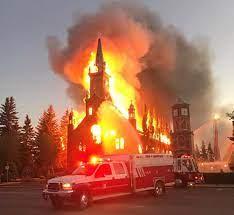 منظموا وقفة ٧ أغسطس للتنديد بحرق الكنائس: لا يليق بكندا أن تكون مكاناً للكراهية وحرق دور العبادة